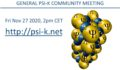 Icon of 2020 Psi-k Community Meeting